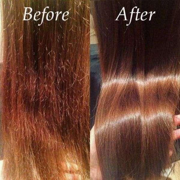 ریست کردن موهای اسیب دیده